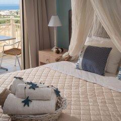 Notos Heights Hotel & Suites 4* Студия с различными типами кроватей фото 6