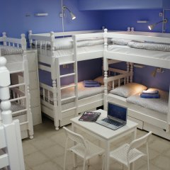 Гостевой Дом Полянка Кровать в общем номере с двухъярусными кроватями фото 19