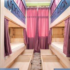 Хостел Good Luck Кровать в общем номере с двухъярусной кроватью фото 5
