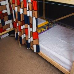 Гостиница Хостелы Рус - Звездный Бульвар Кровать в женском общем номере с двухъярусной кроватью