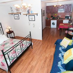 Апартаменты Студия Город Рек у Эрмитажа Апартаменты с различными типами кроватей фото 5