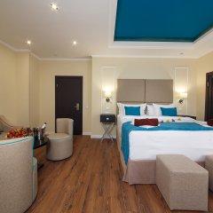 Гостиница Голубая Лагуна Люкс с различными типами кроватей фото 3
