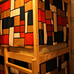 Гостиница Хостелы Рус - Звездный Бульвар Кровать в мужском общем номере с двухъярусной кроватью фото 8