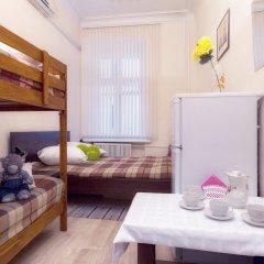 Hostel Yuriy Dolgorukiy Номер с общей ванной комнатой с различными типами кроватей (общая ванная комната) фото 6