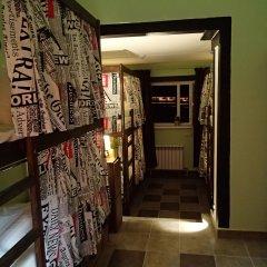 Хостел №1 Электрозаводская Кровать в мужском общем номере с двухъярусной кроватью