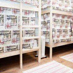 Гостиница Хостелы Рус Домодедово Кровать в женском общем номере с двухъярусной кроватью