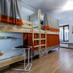 Лайк Хостел Санкт-Петербург на Театральной Кровать в общем номере с двухъярусной кроватью