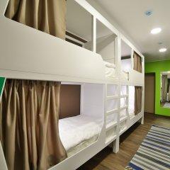 Хостел Nice Пенза Кровать в женском общем номере с двухъярусной кроватью
