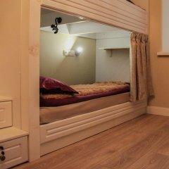 Хостел на Садово-Спасской Кровати в общем номере с двухъярусными кроватями