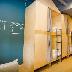 Хостел Inwood Кровать в общем номере с двухъярусной кроватью фото 7