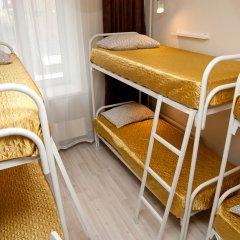 Гостиница Avrora Centr Guest House Кровать в женском общем номере с двухъярусной кроватью