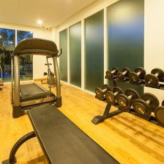 Апартаменты Peaceful at Saiyuan Buri Phuket фитнесс-зал