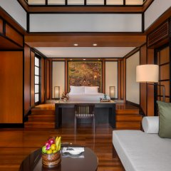 Banyan Tree Phuket Hotel 5* Вилла Делюкс разные типы кроватей фото 4