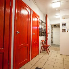 Гостиница Хостелы Рус - Звездный Бульвар Кровать в мужском общем номере с двухъярусной кроватью фото 9