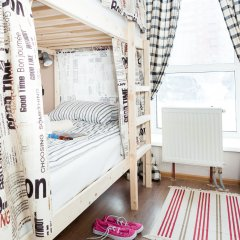 Гостиница Хостелы Рус Домодедово Кровать в общем номере с двухъярусной кроватью фото 5