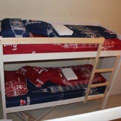 Хостел Visotka Кровати в общем номере с двухъярусными кроватями