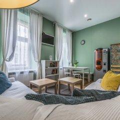 Хостел Маяковский Кровать в общем номере с двухъярусной кроватью фото 4