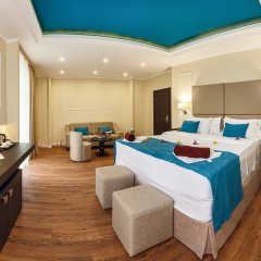 Гостиница Голубая Лагуна Люкс разные типы кроватей фото 2
