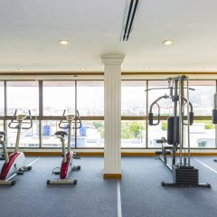 Отель Azhotel Patong фитнесс-зал