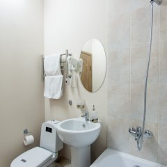 Мини-Отель Меланж Номер с общей ванной комнатой с различными типами кроватей (общая ванная комната) фото 9