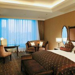 Лотте Отель Москва 5* Улучшенный номер разные типы кроватей фото 5
