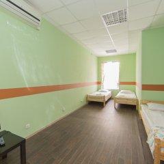 Мини-Отель Компас Номер с общей ванной комнатой с различными типами кроватей (общая ванная комната) фото 30