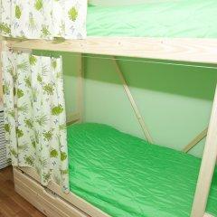 Хостел ВАМкНАМ Захарьевская Номер с общей ванной комнатой с различными типами кроватей (общая ванная комната) фото 10