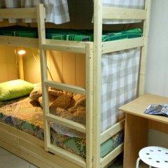 Хостел на Гуртьева Кровать в женском общем номере с двухъярусной кроватью фото 2