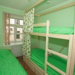 Хостел ВАМкНАМ Захарьевская Номер с общей ванной комнатой с различными типами кроватей (общая ванная комната) фото 4