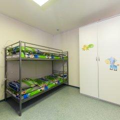 Хостел Чемпион Кровать в общем номере с двухъярусной кроватью фото 3