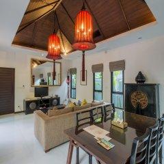Отель The Bell Pool Villa Resort Phuket 5* Вилла с различными типами кроватей фото 2