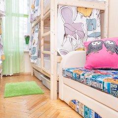 Хостел на Пятницкой Кровать в женском общем номере с двухъярусной кроватью фото 4