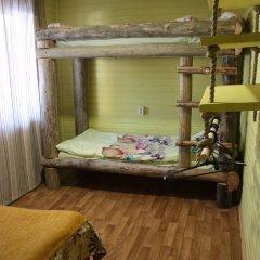 Гостевой Дом Husky Moa Кровать в общем номере с двухъярусной кроватью фото 3