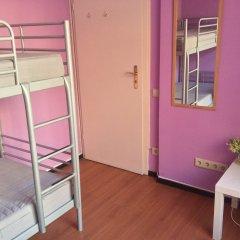 Хостел 7 Sky на Красносельской Номер с общей ванной комнатой с различными типами кроватей (общая ванная комната) фото 2