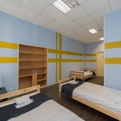 Мини-Отель Компас Номер с общей ванной комнатой с различными типами кроватей (общая ванная комната) фото 18