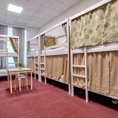 Centeral Hotel & Hostel Кровать в общем номере