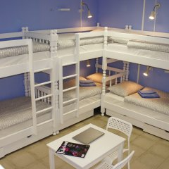 Гостевой Дом Полянка Кровать в общем номере с двухъярусными кроватями фото 21