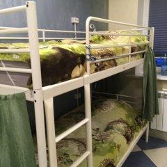 Хостел Аквариум Кровать в общем номере с двухъярусными кроватями фото 11