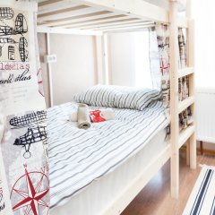 Гостиница Хостелы Рус Домодедово Кровать в общем номере с двухъярусной кроватью фото 9