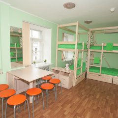 Хостел ВАМкНАМ Захарьевская Кровать в женском общем номере с двухъярусной кроватью фото 2