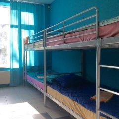 Хостел 7 Sky на Красносельской Кровать в общем номере с двухъярусной кроватью фото 2