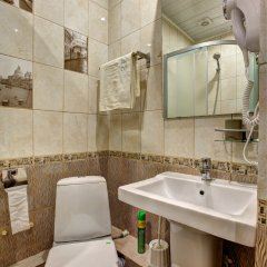 Мини-Гостиница Брусника Щелковская ванная фото 12