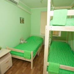 Хостел ВАМкНАМ Захарьевская Номер с общей ванной комнатой с различными типами кроватей (общая ванная комната) фото 5