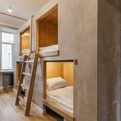 Хостел Джедай Кровать в общем номере с двухъярусной кроватью фото 3