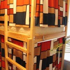 Гостиница Хостелы Рус - Звездный Бульвар Кровать в мужском общем номере с двухъярусной кроватью