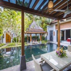 Отель The Bell Pool Villa Resort Phuket 5* Вилла с различными типами кроватей фото 8