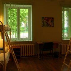 Хостел Бор на Волге Кровать в общем номере двухъярусные кровати фото 2