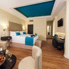 Гостиница Голубая Лагуна Люкс с различными типами кроватей фото 5