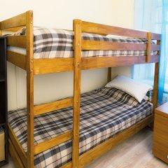 Hostel Yuriy Dolgorukiy Кровать в женском общем номере с двухъярусной кроватью