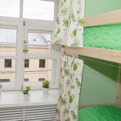 Хостел ВАМкНАМ Захарьевская Кровать в мужском общем номере с двухъярусной кроватью фото 16